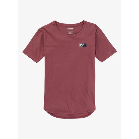 21400100200-Rose Brown, Burton, Bel Mar Scoop Neck T-Shirt, Womens T-Shirts, Fall 2019