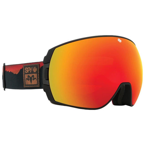 313483175869, Spy, Wiley Miller Goggles, Legacy, Red Mirror, Black Frame, Winter 2020