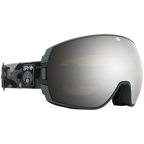 313483854824, Legacy, Spy, Eric Jackson Sig Goggles, Winter 2020, Silver Mirror with Black and grey camo Strap