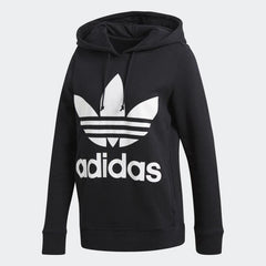 Adidas,Trefoil,Black,Long Sleeve,Hoodie,S,M,L,XS, Front View