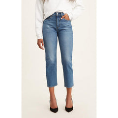 34964-0073, JIVE SOUND, LEVIS, BLUE, DENIM, WEDGIE STRAIGHT JEANS, WOMENS JEANS, SPRING 2020