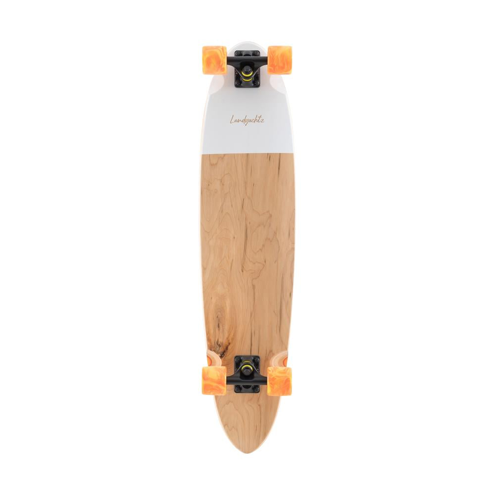 119CP-FRCHFREV, WOOD, WHITE, LANDYACHTZ, REVIVAL SUPER CHIEF COMPLETE, TOP MOUNT LONGBOARDS, LONGBOARD COMPLETE, SPRING 2020