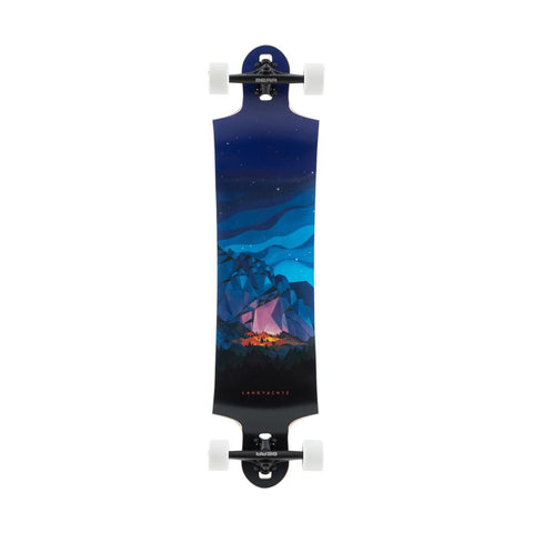 120CP-DHSB40CHFN, BLUE, BLACK, LANDYACHTZ, SWITCHBLADE 40 CHIEF, LONGBOARD COMPLETE, DROP THROUGH TRUCK LONGBOARDS, SPRING 2020