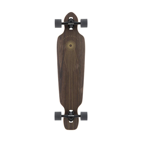 120CP-FRBA38SPRK, LANDYACHTZ, WOOD, BROWN, BATTLE AXE SPACE ROCK COMPLETE, DROP THROUGH TRUCKS LONGBOARD, LONGBOARD COMPLETE, SPRING 2020