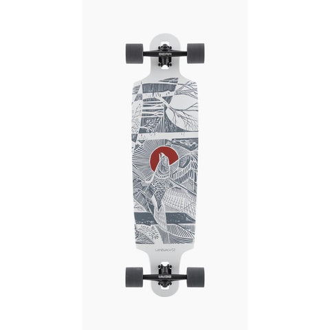 120CP-FRDCT38SK, Landyachtz, Drop Cat 38 Seeker Complete, Longboard Completes, Drop Through Trucks, Spring 2020