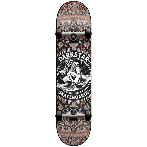 10512298-blk, 8.0 darkstar, magic carpet ride, complete skateboard