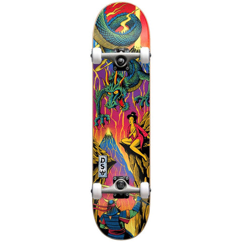 10512304-NEON, Darkstar, Blacklight 2 FP Complete, Complete Skateboard, Orange, Yellow, Green,