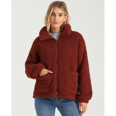 J6403BSC-CNT, CHESTNUT, RED, BILLABONG, SCENIC ROUTE, WOMENS JACKETS,