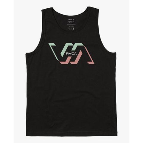 M4813RFA-BLK, Mens tank tops, Black, RVCA,