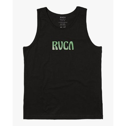 M4813RTO-BLK, Mens Tank Tops, Black, RVCA,