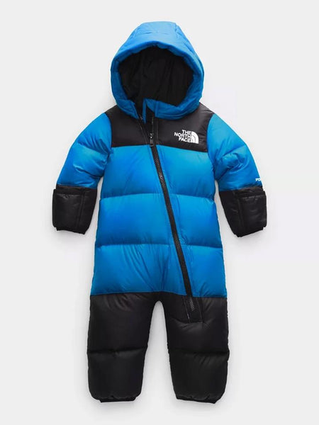 NF0A3NP7W8G-CLEAR LAKE BLUE-NORTHFACE-INFANT SNOWSUITS