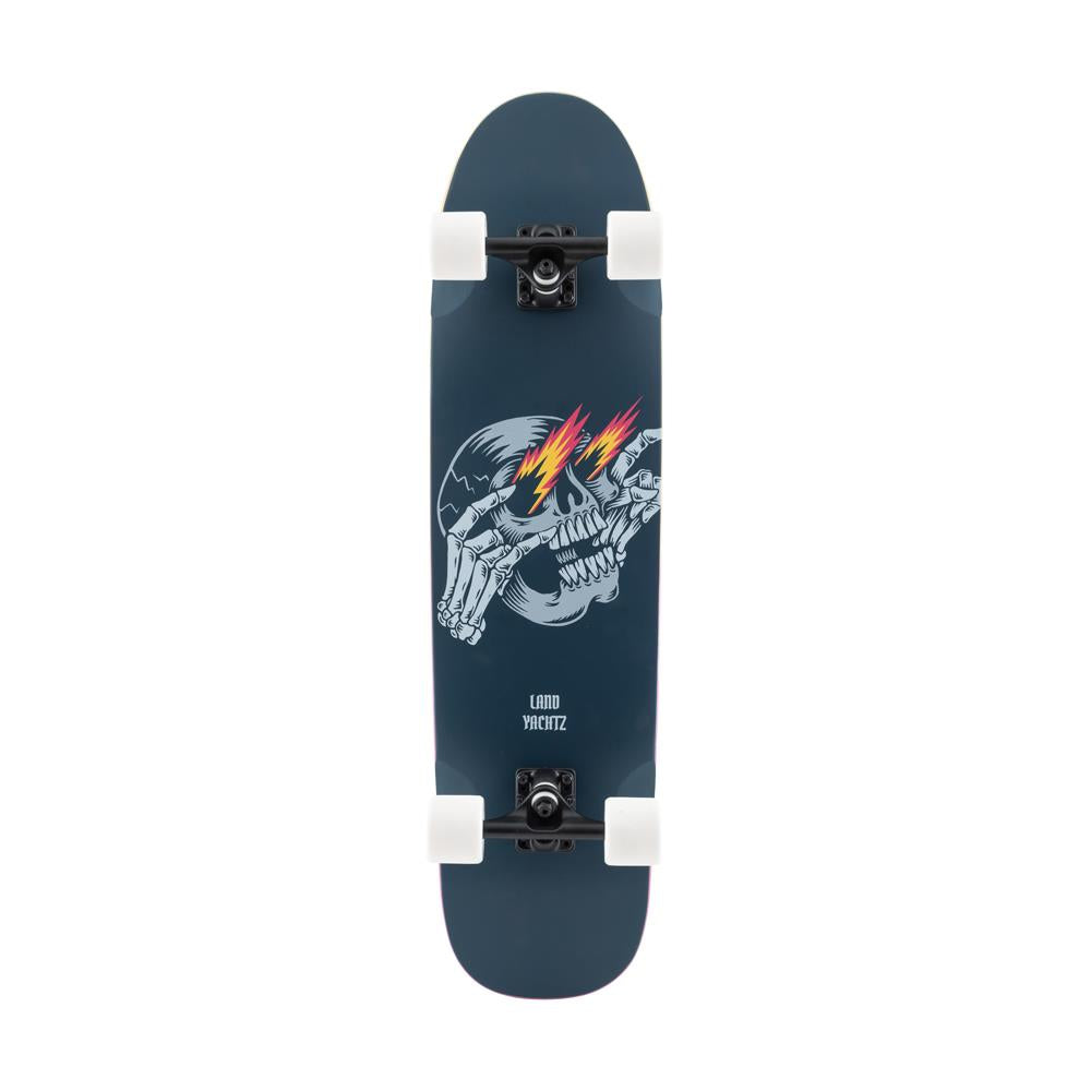 120CP-UBRYLTMT, BLACK, LANDYAHTZ, RALLY CAT METAL COMPLETE, LONGBOARD COMPLETE, SPRING 2020