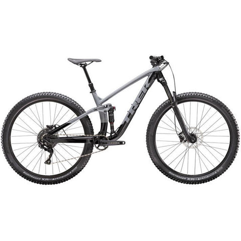 590342, TREK, FUEL EX 5 DEORE, MOUNTAIN BIKE, MENS BIKES, BLACK, GREY, TREK BIKES, SPRING 2020