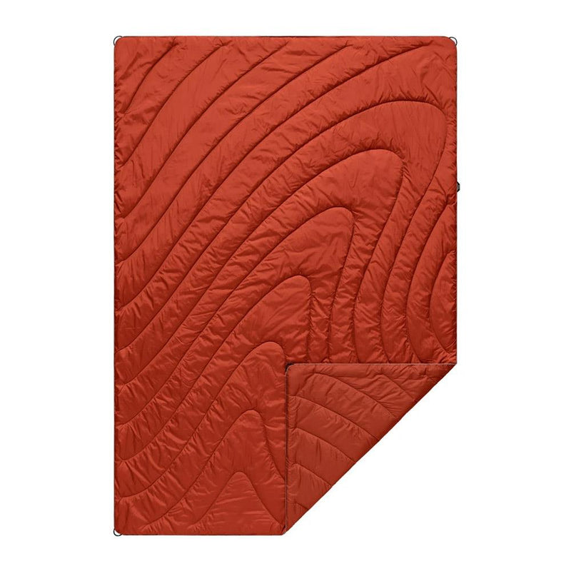 Rumpl OG Puffy Blanket Sedona Red