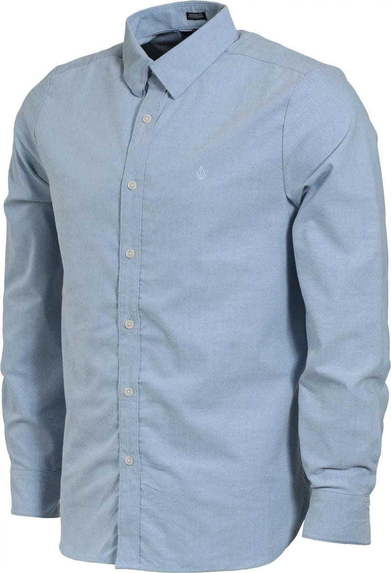 Volcom Oxford Stretch Button Up Longsleeve