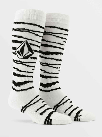 J6352102-VOLCOM-WHITE-MENS SOCKS