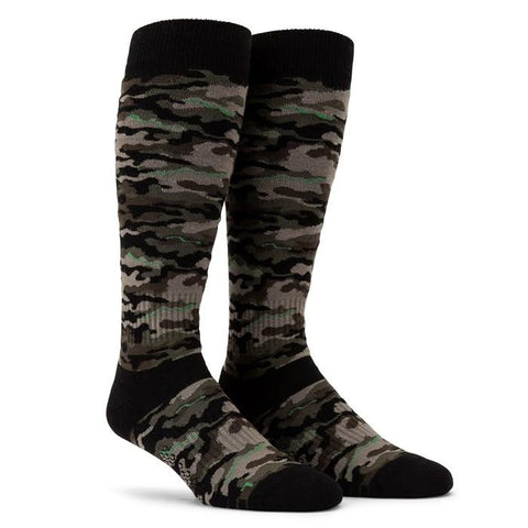 J6352101-ARM-ARMY GREEN-VOLCOM-MENS SOCKS