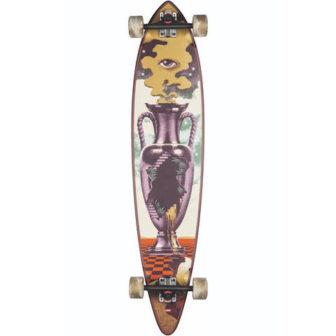 10525264, Globe, Pintail 44, Longboard Complete, Purple, yellow, red, Spring 2020