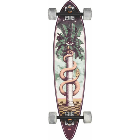 10525289, Globe, Pintail 34, The Sentinel, Pintail Longboard, Longboard completes, Spring 2020, Green, White,