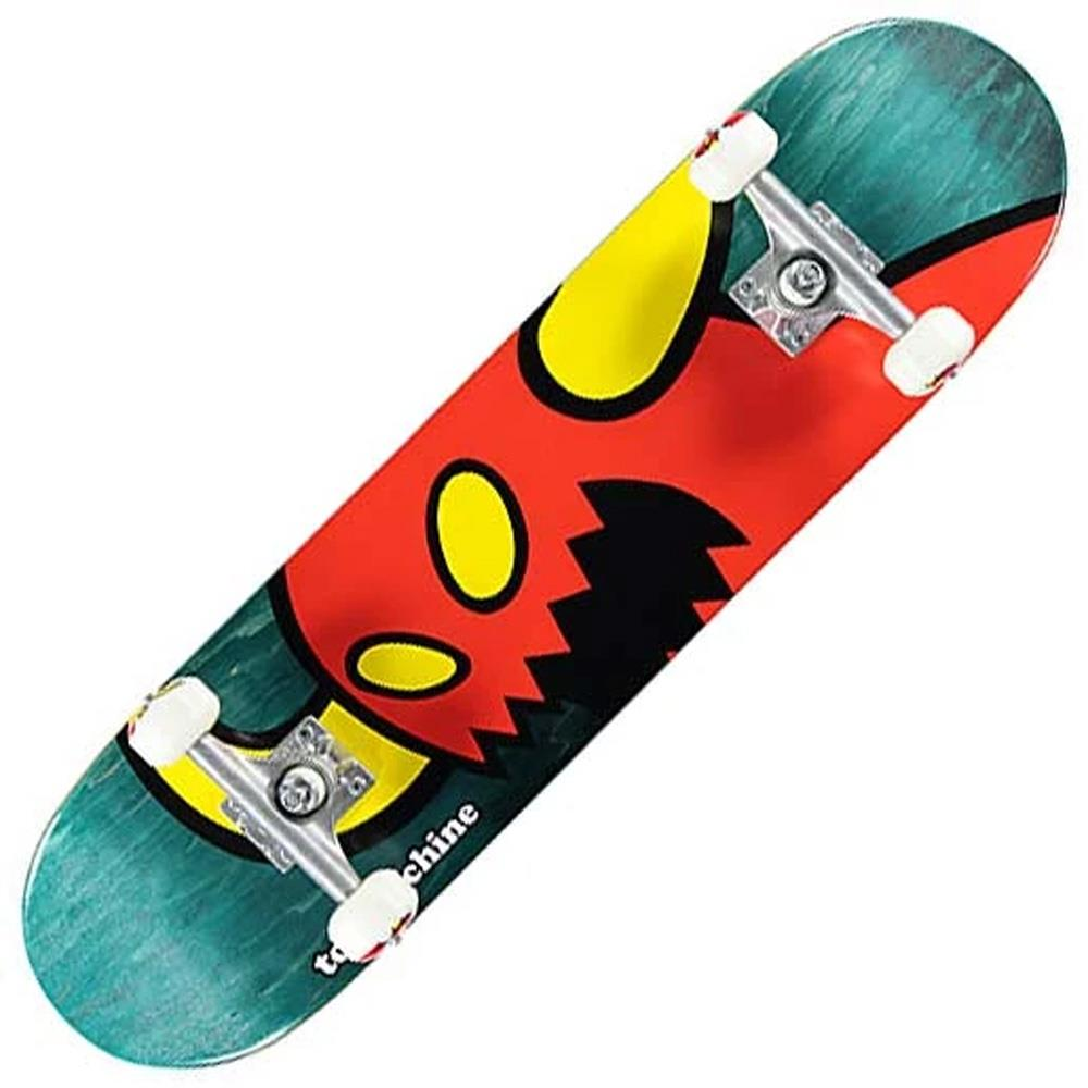 TOY-COMP-0053, VICE MONSTER, TOY MACHINE, 7.75, GREEN, RED, MULTI, SKATEBOARD COMPLETE,