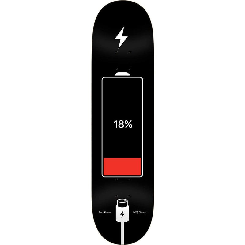 Antihero Grosso Battery Life Skateboard Deck