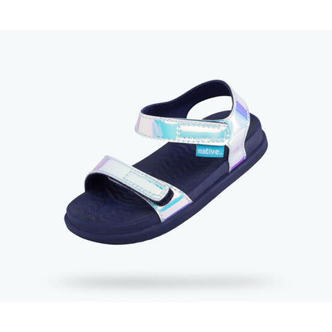 Native Charley Hologram Youth Sandals
