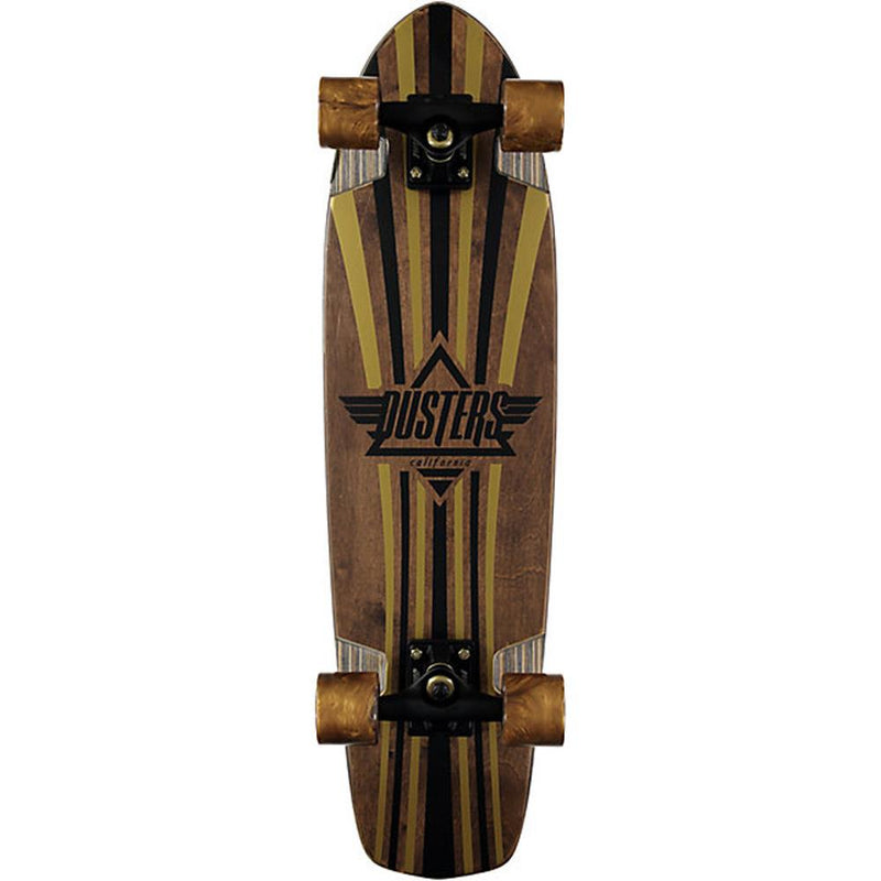 Dusters Keen V-Ply Gold 31' Cruiser Compete Longboard