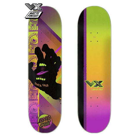 Santa Cruz VX Afterglow Hand Deck
