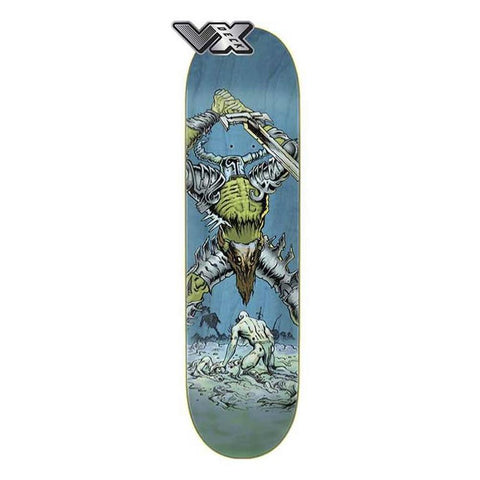 11115791, Creature, VX Deck Battlion Med, Blue Green, Skateboard Decks,