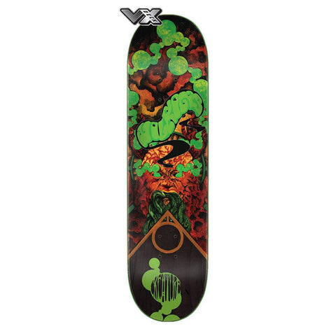 11115899, Creature, VX Deck Wilking Infinite, Skateboard Decks, Green Brown,