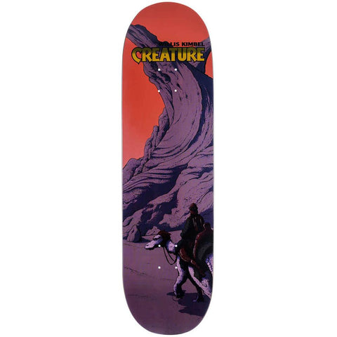 11115901, Creature, Kimbel Deck Oasis, Red, Purple, Skateboard Decks