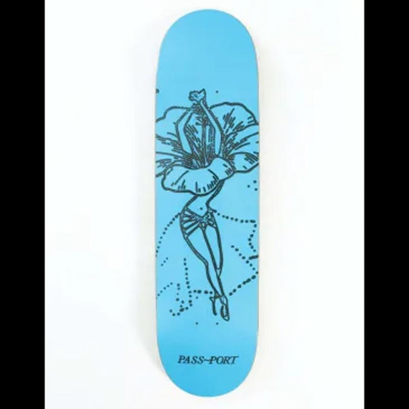Passport Skateboards Hibiscus Floral Dancers Hibiscus Deck