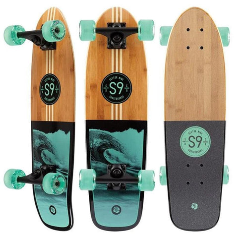 S9SP20-COMP-003, Sector 9, Bico Bambino Complete, mint, wood, Longboard Completes, Top Mount Longboards