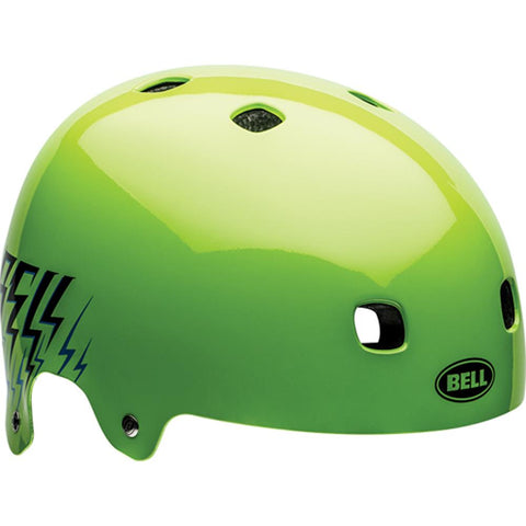 be-7056541, Bel, Segment junior helmet, green