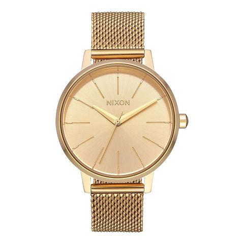 A1229-502-00, ALL GOLD, Kensington Milanese, Nixon, Womens Metal Band Watches