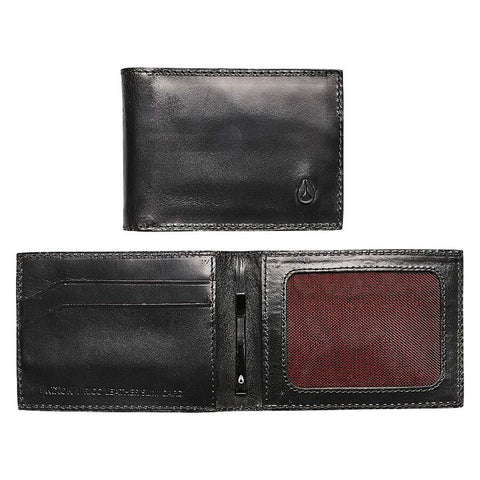 C2977-000-00, Black, Rico Slim Card Wallet, Nixon, Mens Wallets
