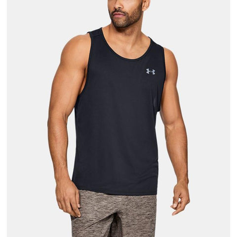 1328704-001, Under Armour, UA Tech 2.0 Tank, Black, Mens Tank Tops