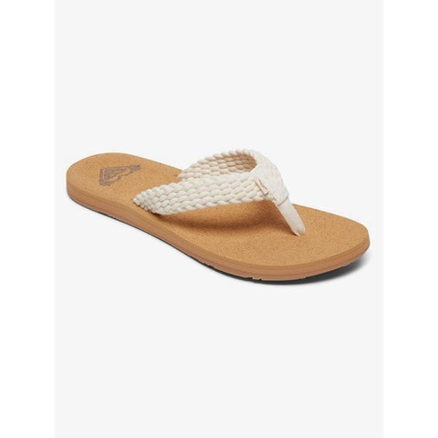 ARJL100867-NAT, Natural, Women's Sandals, Women's Flip Flops, Roxy,