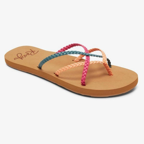 ARJL100895-FTQ, Multi, Womens Sandals, Womens Fashion Sandals, Roxy,