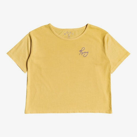 ERGZT03615-NFT0, Yellow, Girls T-shirts, Short Sleeve T-shirt, Roxy,