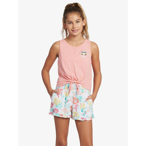 ARGZT03489-MFM0, Pink, Girls Tank Tops, Roxy,