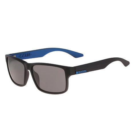 41897.5815008, The Count, Dragon, Mens Lifestyle Sunglasses, Smoke, Matte Black / blue