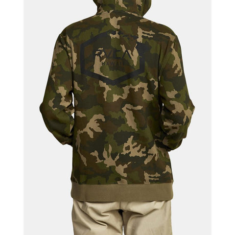 RVCA Boar Hunt Camo Fleece