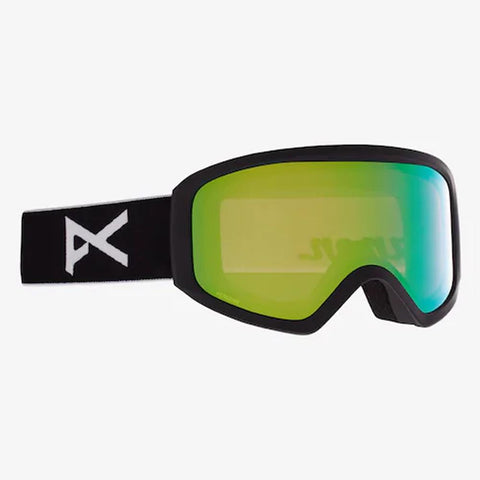 22259100001, Frame: Black, Lens: PERCEIVE Variable Green, Anon, Insight, Womens Goggles