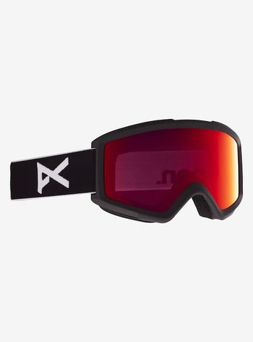 22257100001-BURTON-MENS GOGGLES-BLACK/RED