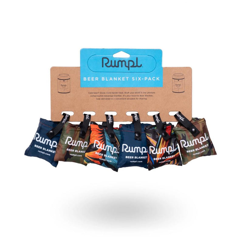 Rumpl Beer Blanket Coozy 6 Pack