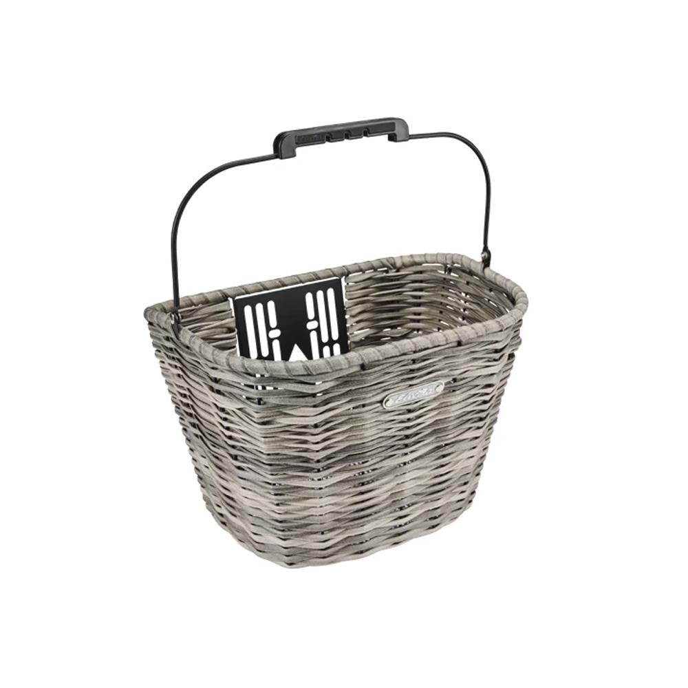5251695, Grey, Electra All-Weather Woven Front QR Basket