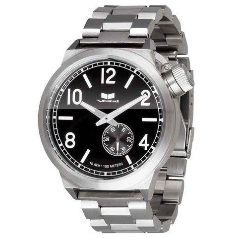 Vestal Canteen Mens Metal Band Watches