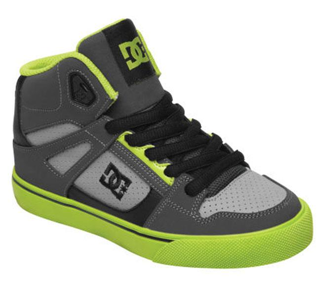 DC SPARTAN HI KIDS HIGH TOP