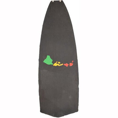 Blue Planet SUP Deck Pad With Rasta Islands